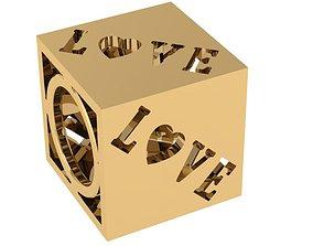 3D printable model fusion Ring verymodel