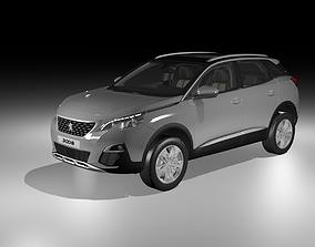 3D Peugeot 3008