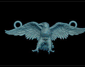 Eagle pendant prey 3D print model