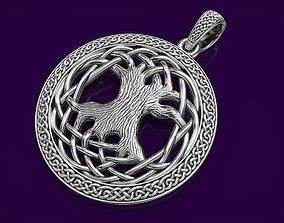 3D print model Pendant Celtic Tree of Life