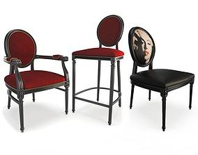 Baroque Furniture 3D model
