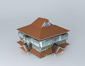 dekanat Ekonomi 3D model