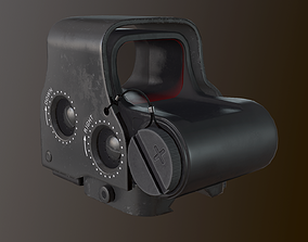 3D asset Eotech exps2 Holographic Sight