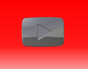 Youtube Button 3D - reloaded