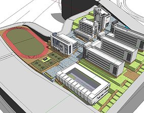 Region-City-School 09 3D model
