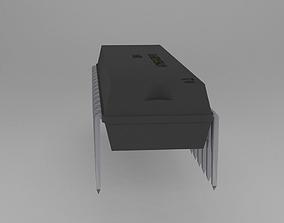 3D model ATMega328P-PU Microcontroller