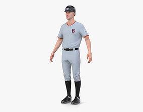 3D head Baseball Player