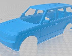 Range Rover Sport Printable Body Car