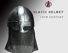 3D model Slavic Helmet - 10th Century