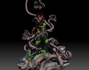 Poison Ivy from Batman Uma Thurman DC 3D print model 1