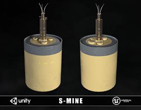 Sprengen Mine 1935 3D asset