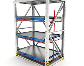 3D model Heavy-duty rack