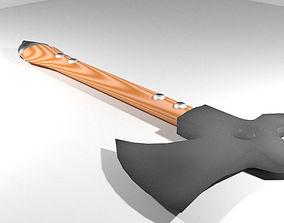 Battle Axe - Arabic Scorpionaxe 3D model