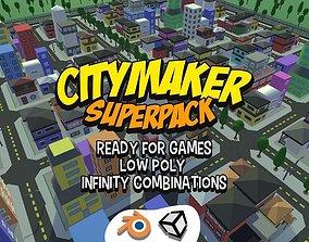 Citty Maker Super Pack 3D model