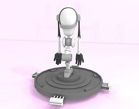 Robot laptop 3D printable model