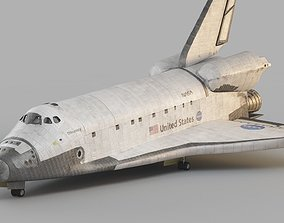 3D model Space Shuttle Atlantis spacecraft