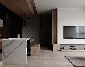 3D Modern Apartment 1