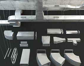 Airway Ventilation 3D model