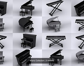 3D model Piano Collection