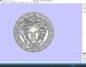 Versace logo pendent 3D printable model