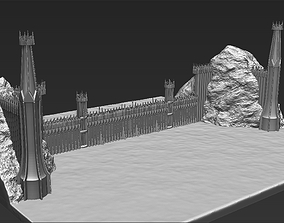 3D printable model The Black Gate of Mordor from The 5