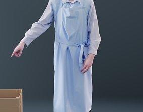 Felix 10143 - Standing Supermarket Man 3D model