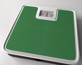3D model Bathroom Scale overweight