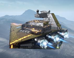 3D model STAR WARS Imperial Star Destroyer