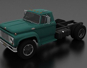 3D model F-Series F-800 Truck Chassis 1964