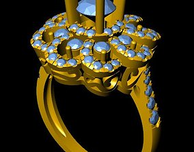 3D print model DiamondRing jewels