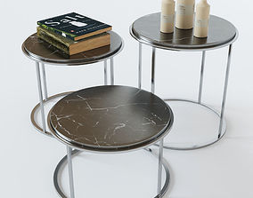 3D coffee table rustic classic vray render ready