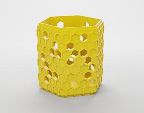 HEXAGONAL HOLDER 3D printable model
