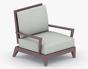 1162 - Armchair 3D asset