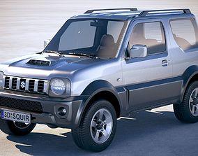 3D model Suzuki Jimny 4ALL 2010-2018