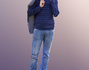 Anselmo 10223 - Standing Casual Guy 3D asset