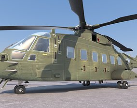 EH-101 Helicopter AW-101 Merlin Multipurpose 3D asset