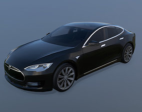 3D asset Tesla Model S 2013 Low-Poly Model