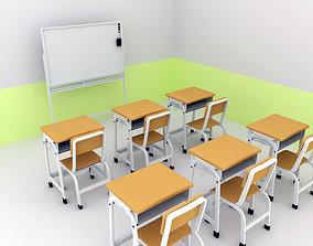 classroom Classroom 3D model