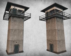 Prison Tower 3D model