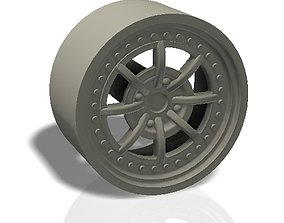 8 spokes rim - llanta 3D printable model