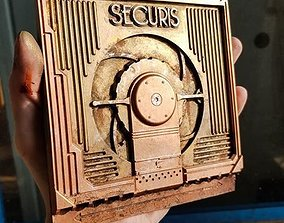 Bioshock Securis Bulkhead Door Miniature 3D print model