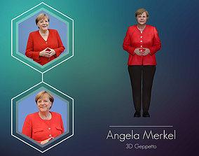 Angela Merkel 3D Model ready for 3d print