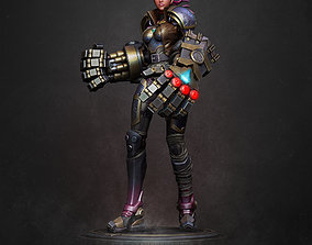 3D print model VI - League of Legends