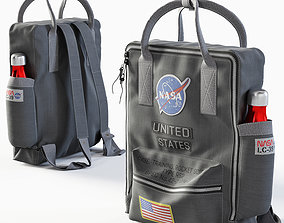 3D model City NASA Backpack