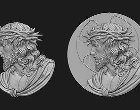 Ecce Homo Bas-Relief 3D print model