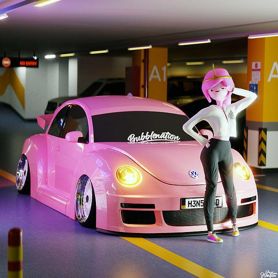 Princess Bubblegum's stance life
