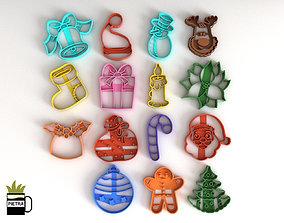 MOLDE CORTANTE PARA GALLETAS FONDANT 3D printable model