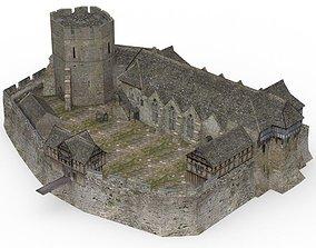 Fortified Manor for DAZ Studio 3D model