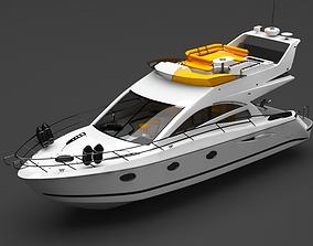 private boat 3D sea