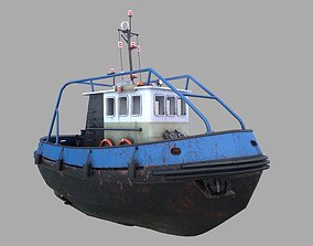 3D model Tugboat Emilka